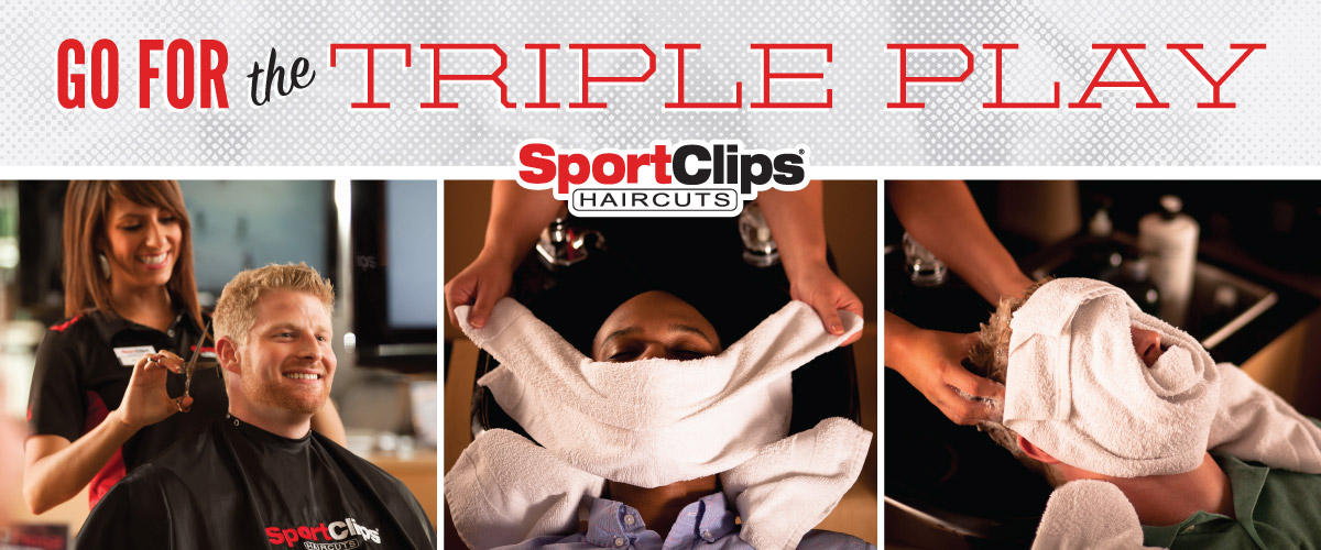The Sport Clips Haircuts of Arnold  Triple Play